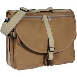 F-802 Reporter's Satchel Shoulder Bag (Sand) Product Image
