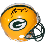 Aaron Rodgers Signed Green Bay Packers Mini Helmet Product Image