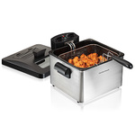 Professional-Style Deep Fryer w/ Double Basket Product Image