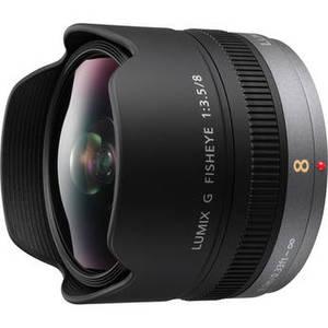 Lumix G Fisheye 8mm f/3.5 Lens Product Image