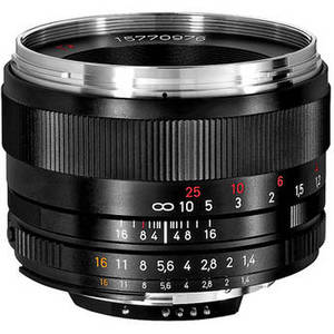 Planar T* 50mm f/1.4 ZF.2 Lens for Nikon F Product Image