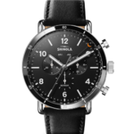 Shinola The Canfield Sport Chrono Leather Strap Watch Product Image