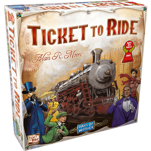 Ticket to Ride Board Game Ages 8+ Years Product Image