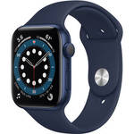 Watch Series 6 (GPS, 44mm, Blue Aluminum, Deep Navy Sport Band) Product Image