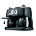 DeLonghi Combination Espresso and Drip Coffee Machine Product Image