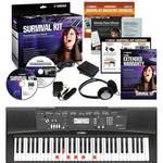 EZ-220 Lighted 61-Key Portable Keyboard Basics Kit Product Image