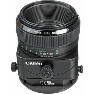 TS-E 90mm f/2.8 Tilt-Shift Lens Product Image