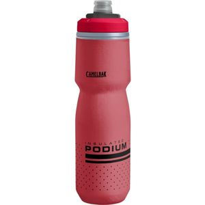 Podium Chill 24oz/.71L Insulated Bike Bottle - Fiery Red Product Image