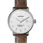 Shinola The Canfield Leather Strap Watch Product Image