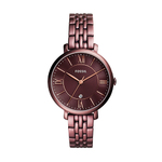 Ladies Jacqueline Red Wine Stainless Steel Watch Red Wine Dial Product Image