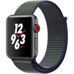Watch Nike+ Series 3 42mm Smartwatch (GPS + Cellular, Space Gray Aluminum Case, Midnight Fog Midnight Fog Nike Sport Loop) Product Image