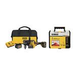 FLEXVOLT 60V Stud/Joist Drill Kit w/ 7pc Drilling Hole Saw Kit Product Image