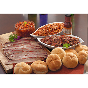 Chopped Four Meat Lover Dinner KC BBQ Product Image