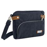 Anti-Theft Heritage Crossbody Bag Indigo Product Image