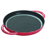 """Cast Iron 10"""" Round Pure Grill Cherry Product Image"""