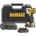 "20V MAX Lithium-Ion 1/4"" Impact Driver Kit Product Image"