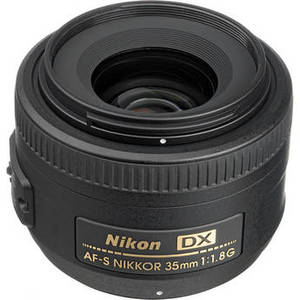 AF-S DX NIKKOR 35mm f/1.8G Lens Product Image