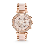 Ladies Parker Rose Gold-Tone SS Watch Rose-Gold Dial Product Image