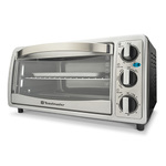6 Slice Toaster Oven Silver Product Image