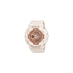 Womens Baby-G Analog/Digital Watch White/Rose-Gold Product Image