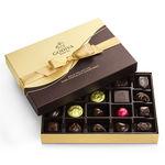 GODIVA 22 Piece Dark Chocolate Assortment Gift Box Product Image