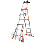 Select Step 6-10ft Aluminum Adjustable Stepladder Product Image