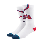 Stance Atlanta Braves Home Socks Product Image