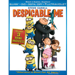 Despicable Me Blu Ray/Dvd W/Digital Copy/Ultraviolet Product Image