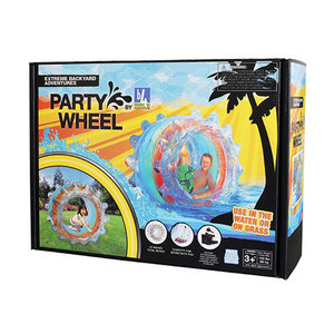 """54"""" Inflatable Party Wheel Ages 4+ Years Product Image"""