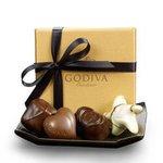 GODIVA® Gold Party Favors w/Black Ribbon (4 Piece) Product Image