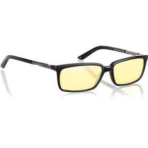 Haus Computer Glasses (Onyx Frame, Amber Lens Tint) Product Image