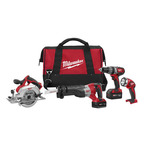 M18 Cordless 4-Tool Combo Kit Product Image