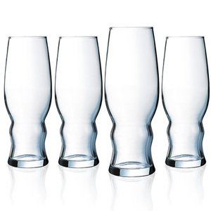 Medford Pilsner 16oz Glasses Set of 4 Product Image