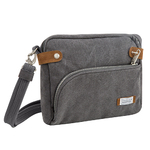 Anti-Theft Heritage Crossbody Bag Pewter Product Image