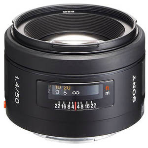 50mm f/1.4 Lens Product Image