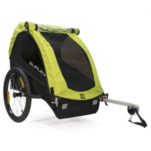 Minnow Kids Bike Trailer and Stroller - Green Product Image