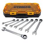 Tough Box 8pc MM Ratcheting Wrench Set Product Image