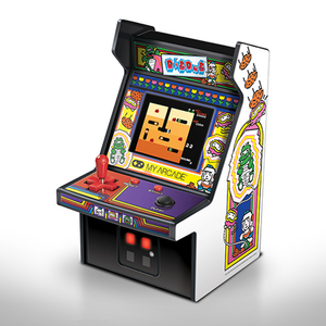 Dig Dug Micro Retro Arcade Game Product Image