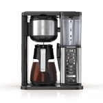 Specialty Coffeemaker w/ Fold-Away Frother & Glass Carafe Product Image