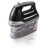 6-Speed Hand Mixer with Snap-On Case Product Image