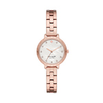 Ladies Morningside Scallop Mini Rose-Gold Watch Mother-of-Pearl Dial Product Image