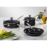 6pc Toughened Nonstick Cookware Set Product Image