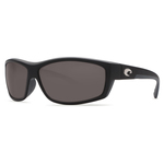 SaltBreak Matte Black Sunglasses w/ Gray 580G Lens Product Image