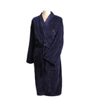 Navy Cotton Robe Size L/XL Product Image
