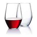 19oz Concerto Stemless Wine Glasses Set of 12 Product Image