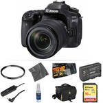 EOS 80D DSLR Camera with 18-135mm Lens Basic Kit Product Image