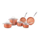 Duralon 10pc Ceramic Nonstick Cookware Set Product Image