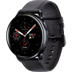 Galaxy Watch Active2 LTE Smartwatch (Stainless Steel, 40mm, Black) Product Image