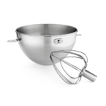 KitchenAid 3 Quart Stainless Steel Bowl and Combi Whip Product Image