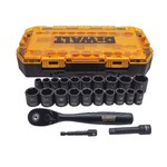"23pc 3/8"" Deep Combination Impact Socket Set Product Image"